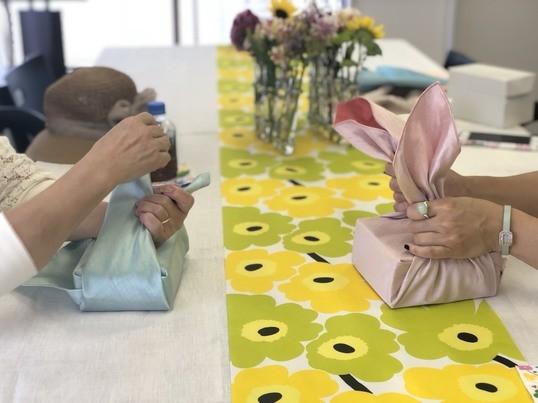 韓国風呂敷結び・ボジャギアート講座の画像