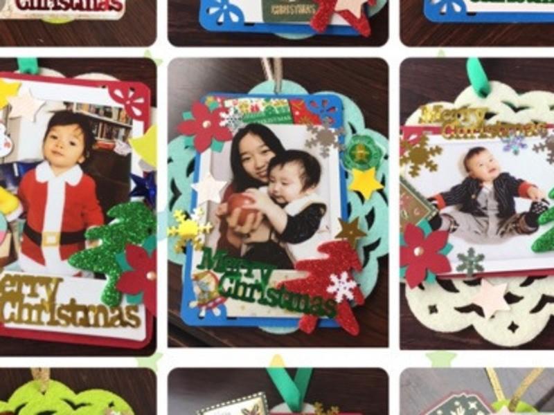 クリスマスオーナメント!ママイベントで使えるワークショップ教室の画像
