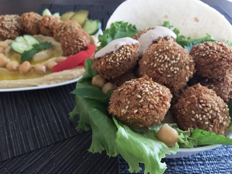 アラビアの大人気ひよこ豆コロッケ( 菜食主義者でもおすすめです)の画像