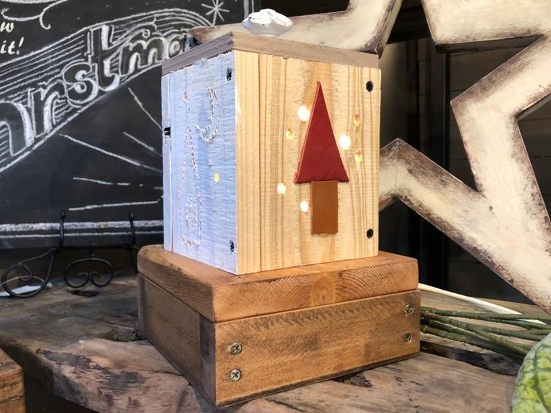 【初心者・親子向け講座】ドリルで穴開けほのかな灯のヒーリングランプの画像