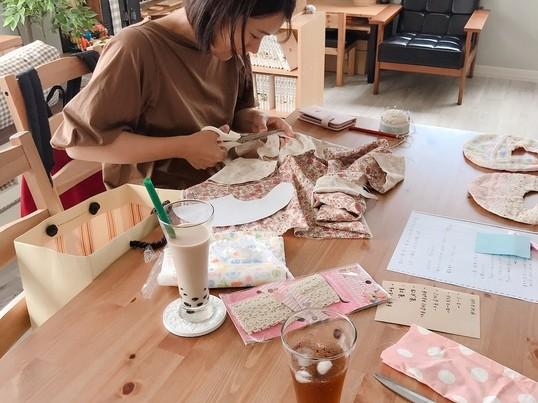 プレママ向け♡スタイを2時間で手縫いハンドメイド不器用さん大歓迎の画像