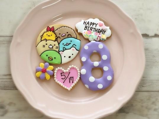 キャラクタークッキーがお家で作れるレッスンの画像