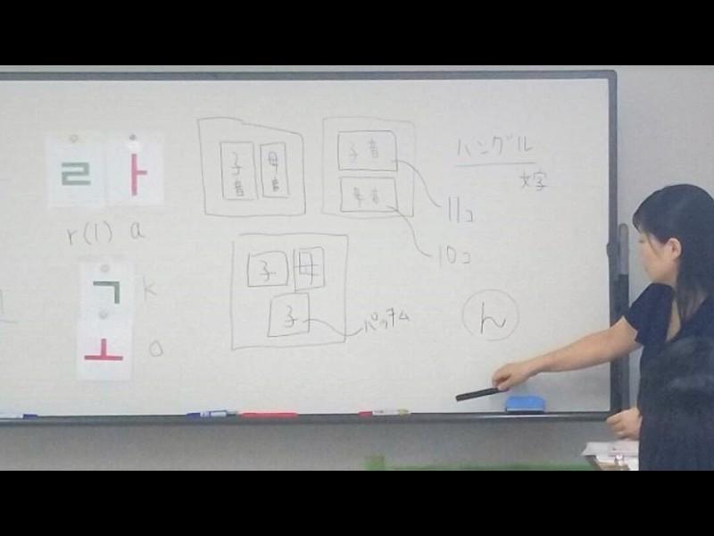 6回受講でハングルマスター!ゲーム感覚で楽しく覚えるハングル☆の画像