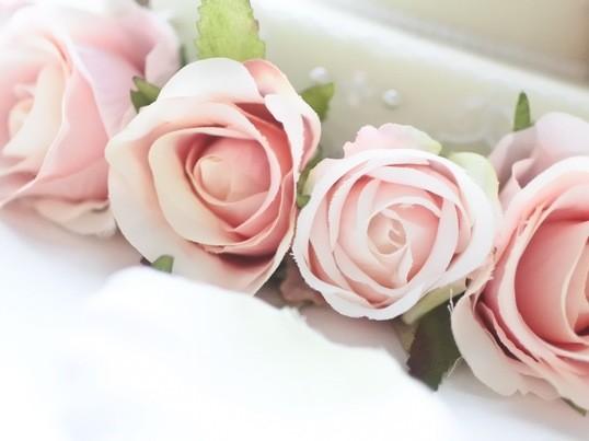 【限定5名】ずっと飾れる♡ローズ・ウェディングケーキの画像