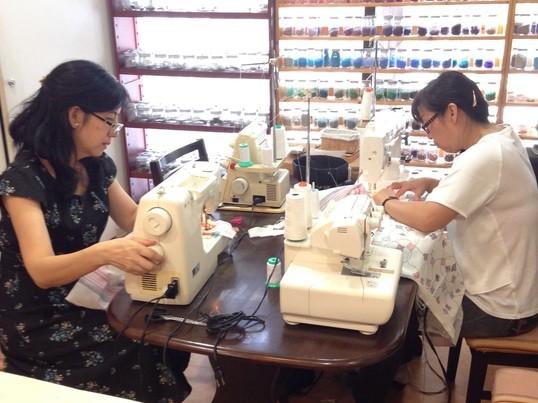 【横浜❤︎手芸部】大人気!ガウチョ パンツを作りましょう!の画像