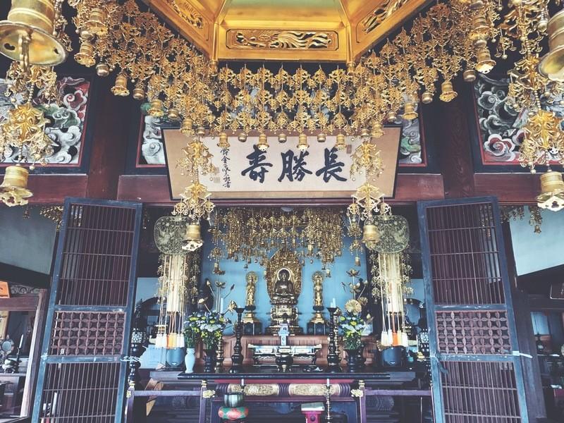 海風薫るお寺のお堂で心身スッキリヨガクラス!の画像