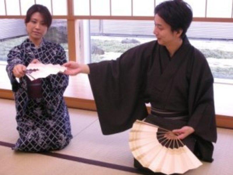 【群馬教室】日本舞踊(着付け、立ち座り、お辞儀の仕方まで)月2回の画像