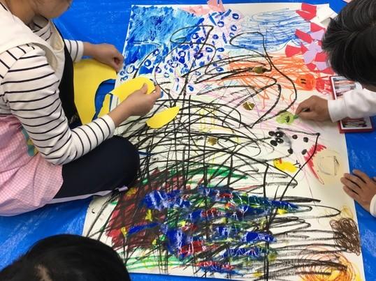 誰でも簡単に絵が描ける!60分!三原色でじっくり描こうin練馬の画像