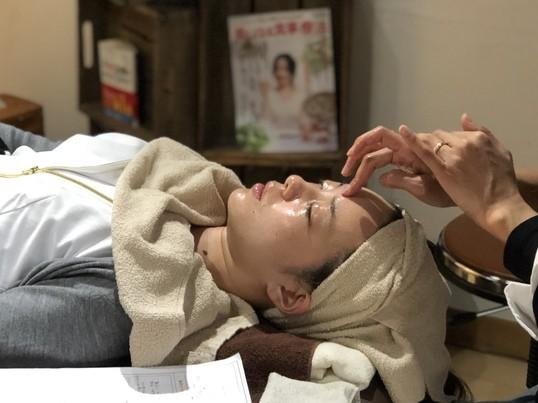 中医美顔✨顔つぼしっかり系マッサージ。小顔/リフトアップ/美肌の画像
