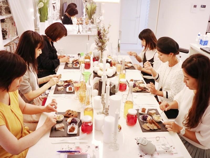 京都出張レッスン kombucha株分けレッスン(お茶の発酵飲料)の画像