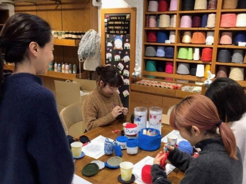 【入門】初心者さん向け講座!一番カンタンな細編みコースターの画像