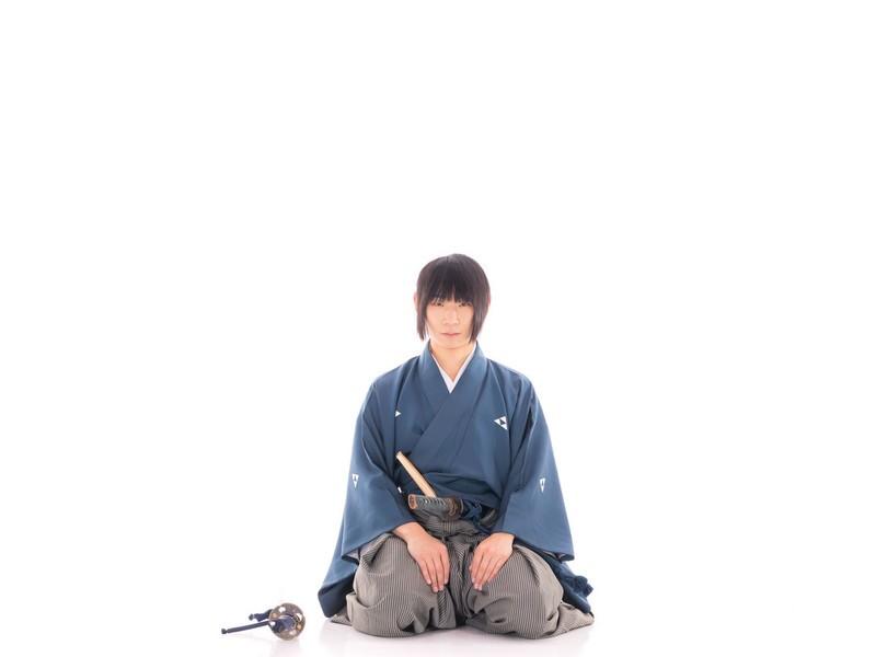 【サムライ体験 殺陣剣舞】レンタル紋付袴 記念撮影 刀剣女子の画像