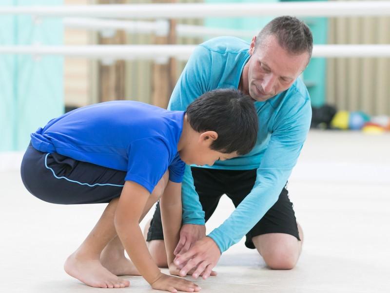 外国人体育講師の英語の運動の面白さがわかる指導者向け英語体育体験会の画像