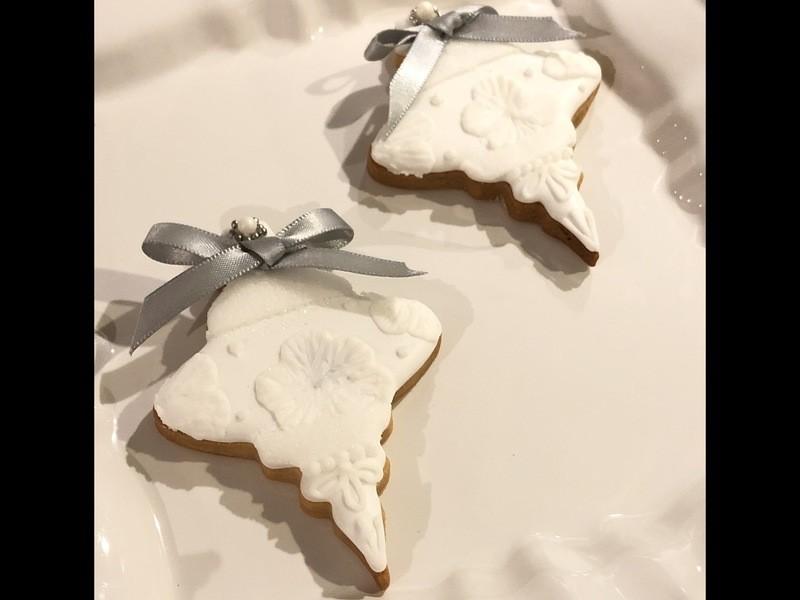 アイシングクッキー クリスマスオーナメントの画像