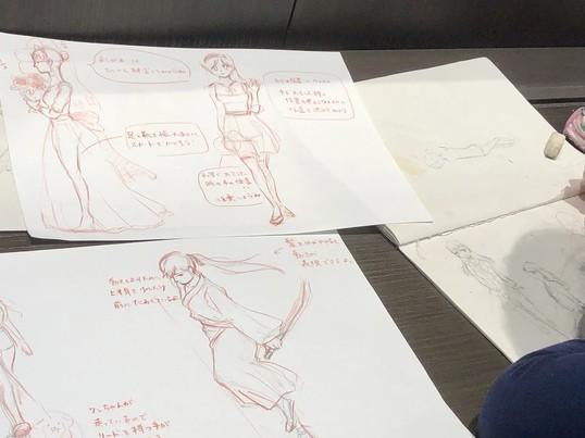 【60分個人レッスン】カフェでゆっくり♪イラスト講座の画像