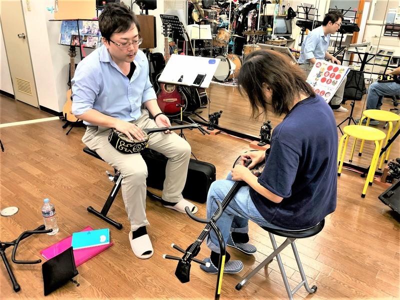 楽器がなくても参加できる沖縄三線講座の画像