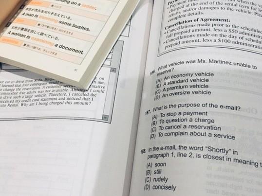 マンツーマン:TOEICリーディング集中実践!長文を読み解く90分の画像
