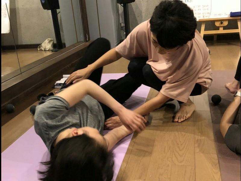 ☆子連れOK☆ママ向け☆疲労回復リラックス♪筋膜リリースセルフケアの画像