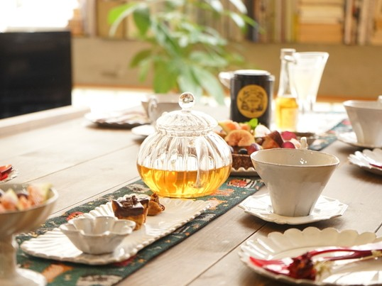 《チョコと紅茶が好きな方へ》チョコサラミ作りとお茶を楽しむ会の画像