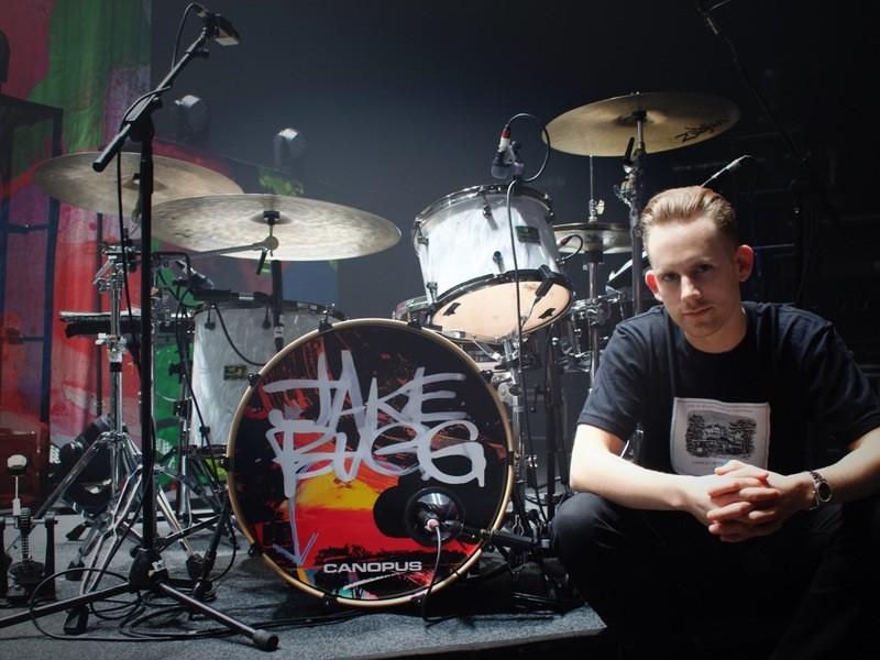 【高円寺】UK ROCKの最前線で活躍、ジャックのドラムクリニックの画像