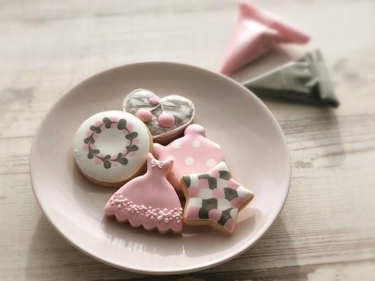 プロ講師が教えるお洒落なアイシングクッキーが作れるレッスン♡の画像