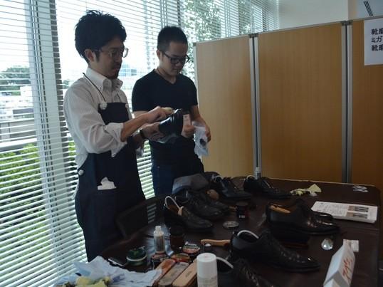 大切な靴を一生モノにする靴磨き教室 の画像