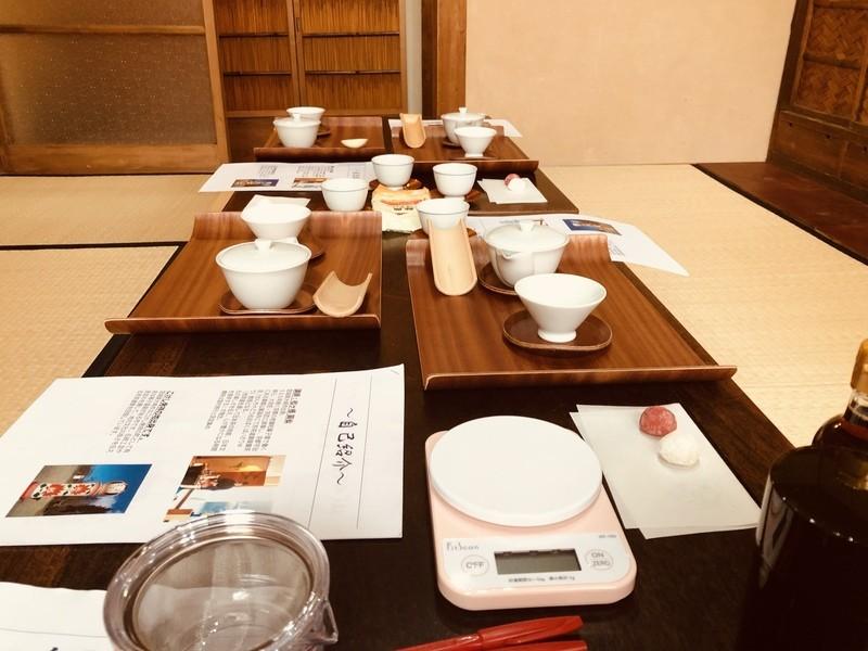 大阪上本町にて開催「はじめての日本茶ワークショップ」の画像