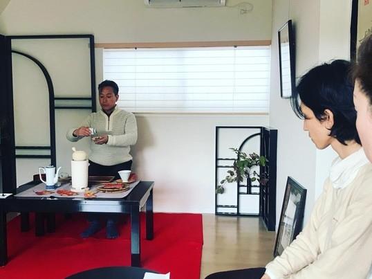 正座しない煎茶道体験教室の画像