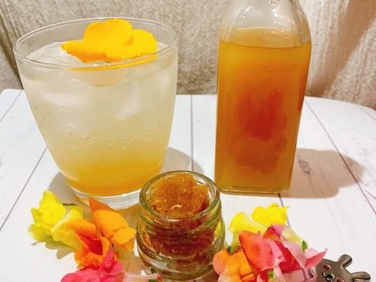 自家製コーラ&レモン&ジンジャーシロップとジャム作り講座!消毒液付の画像