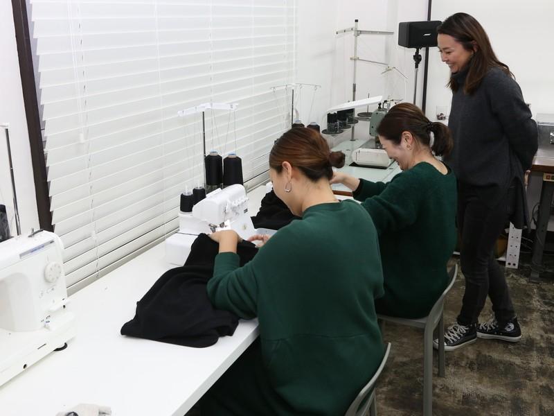 Women`s ボートネック&スカートの製作(初心者大歓迎)の画像