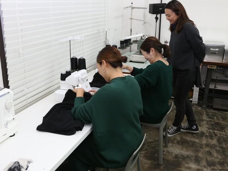 Women`s カシミヤ混プルオーバー 製作 (初心者大歓迎)の画像