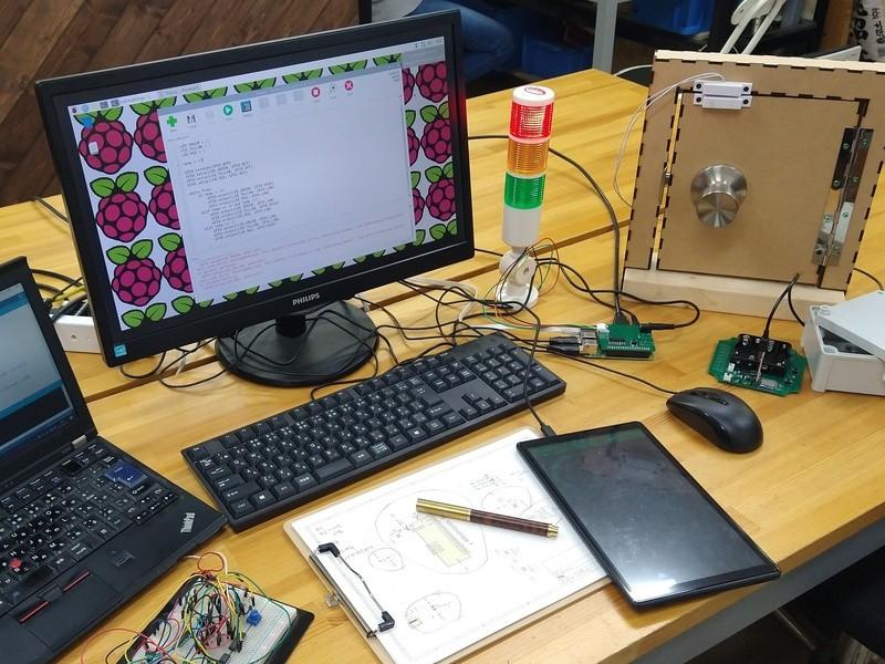 自分でできるIoT RaspberryPiで作るダッシュボードの画像