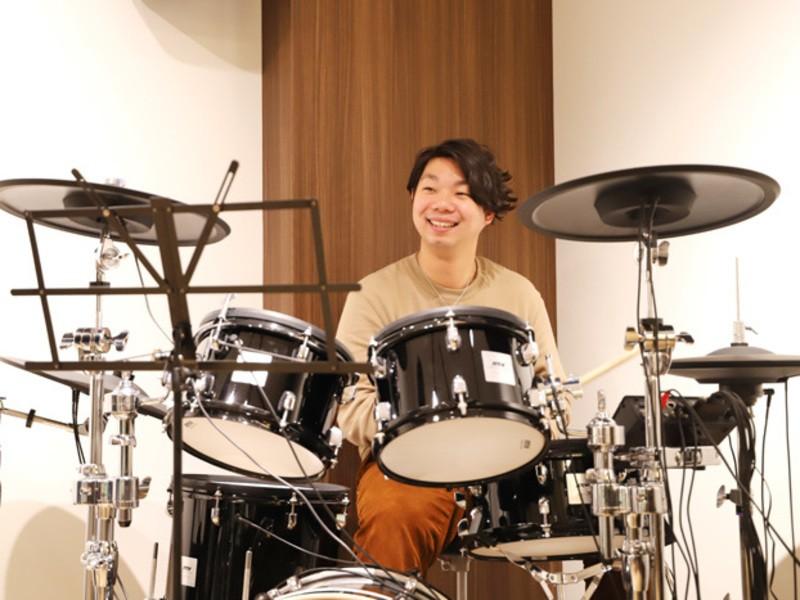 初心者・お一人様大歓迎!!ドラム体験レッスン60分の画像