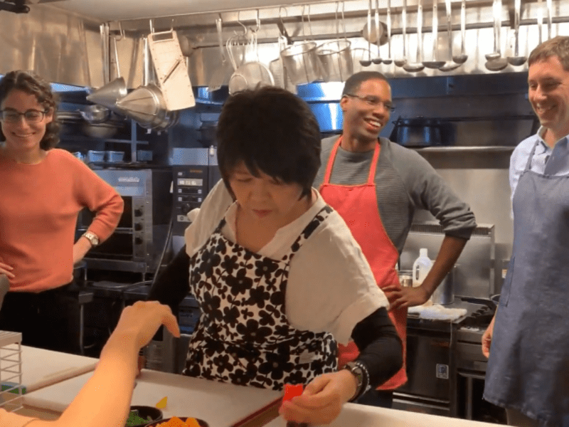 英語で料理教室スタート講座<英語で日本食文化を外国人に伝えませんかの画像