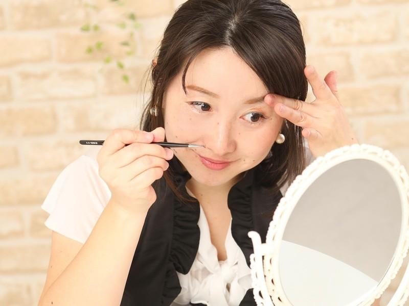 100分で自分でまつげエクステできる!美人まつげレッスンin神戸の画像