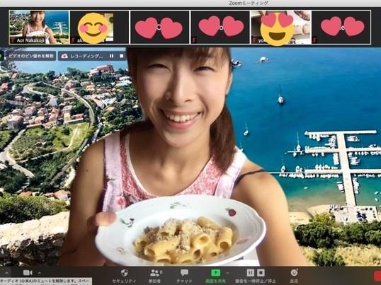 【オンライン】イタリアのマンマ直伝パスタクラス♡シンプルに本場の味の画像