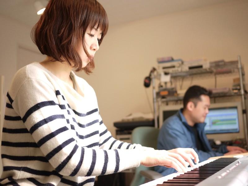 憧れのジャズピアノ体験♪風通しの良いスタジオでコロナ対策もOKの画像
