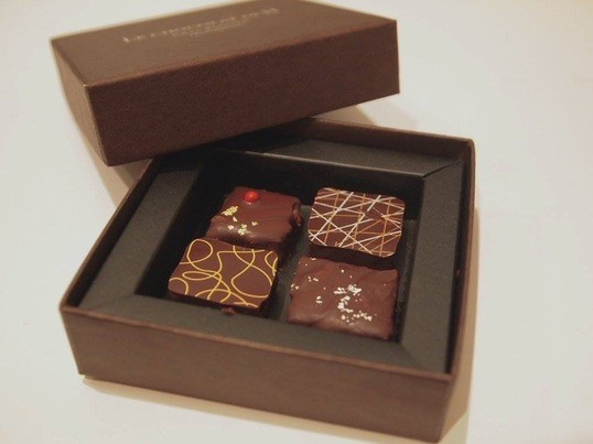 ♡バレンタイン準備♡簡単に本格的なボンボンショコラを作りましょう!の画像