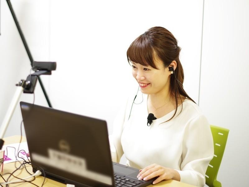 【zoom】講師必見!現役キャスターと学ぶオンラインでの伝え方講座の画像