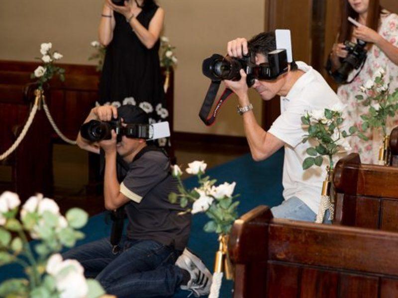 ブライダルカメラ実践講座①失敗しないコツ&コロコロ変わる照明の対応の画像