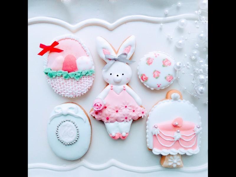 イースターアイシングクッキーの画像