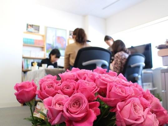 1月生花フラワーアレンジメントレッスンの画像