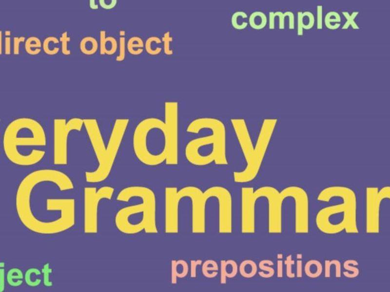 【オンライン開催】世界一わかりやすい「文法から学ぶ」英会話の画像