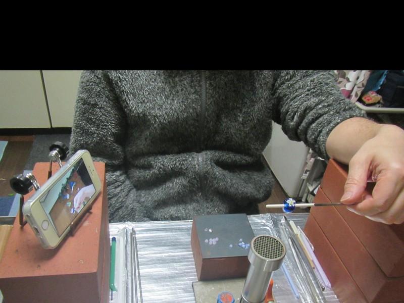 【オンライン講座】とんぼ玉★1時間コース★自宅でスキルアップの画像