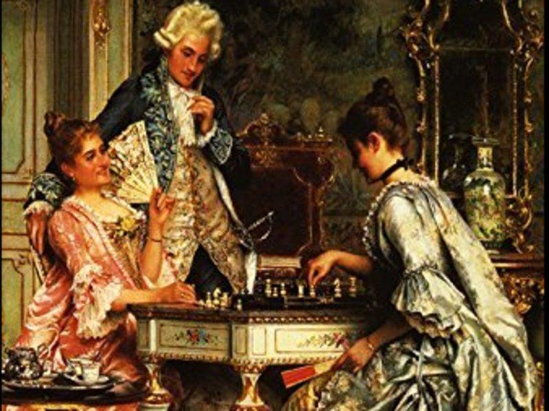 オンラインチェスサロン 淑女のはじめてのチェス ー歴史・導入編ーの画像