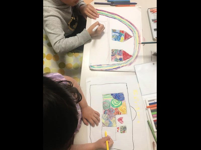 [オンライン開催]小・中学生向け「簡単うずまきアート」の画像
