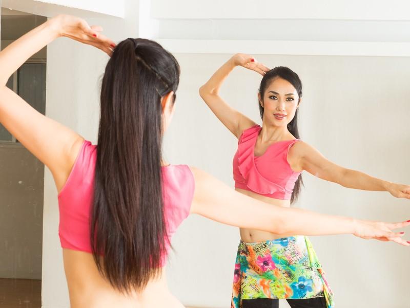 【オンライン】お家でベリーダンス☆リフレッシュ&くびれ美人の画像