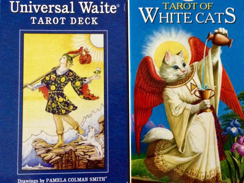 ウエイト版と比較する【大アルカナ・白猫タロット中級】共通点と相違点の画像