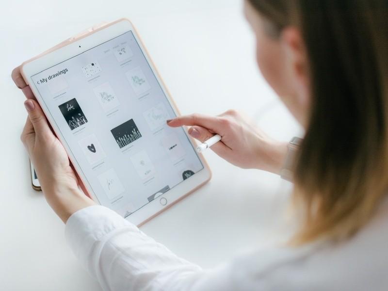 オンライン【Procreate初心者編】超簡単に画像やイラスト作成の画像