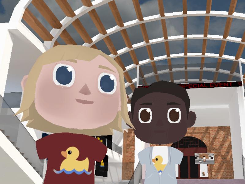 【VR体験】アバターでバーチャルの世界をぶらぶらお散歩【Hubs】の画像